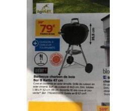 Castorama: Barbecue à charbon de bois Weber Bar-B-Kettle - 47 cm à 79€ au lieu de 99€