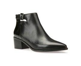 Brandalley: Geox - Lia - bottines en cuir - noir à 49,90€ au lieu de 155€