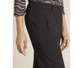 1.2.3: Pantalon de tailleur noir à zips Valero à 49,50€ au lieu de 99€