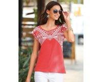 3 Suisses: Tee-shirt manches courtes imprimé femme 3Suisses - Corai à 10,49€ au lieu de 14,99€