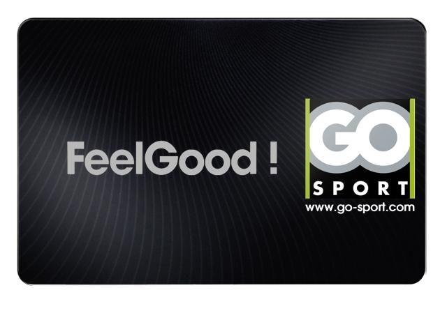 carte fidélité go sport Adhérents FeelGood] 20€ offerts en bon d'achat dès 60€ de commande