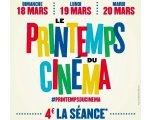 UGC: Le Printemps du Cinéma : 4€ la séance du 18 au 20 mars