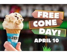Ben & Jerry's: Free Cone Day 2018 : distribution gratuite de glaces Ben & Jerry's le 10 avril