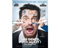 """W9: 15 lots de 2 places de cinéma pour le film """"Les dents, pipi et au lit"""" à gagner"""