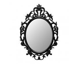 IKEA: Miroir Ikea noir Unh Drill ovale - 59x85cm à 20€ au lieu de 30€