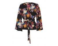 La Halle: Chemisier kimono à fleurs multicolores au prix de 14,50€ au lieu de 29€