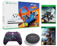 Fnac: Xbox One S 1To + Forza Horizon 3 + Hot Wheels + Destiny 2 + 2e manette + 1 jeu & Google Home à 259€