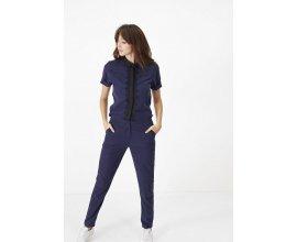 IKKS: Combinaison pantalon marine et noir galon dentelle I.code au prix de 105€ au lieu de 175€