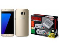 Rue du Commerce: Smartphone Samsung Galaxy S7 + Nintendo Classic Mini Super Nes à 349€ (dont 70€ via ODR)