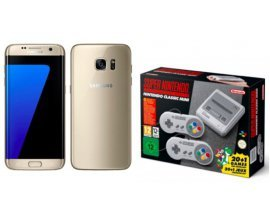 Rue du Commerce: Smartphone Samsung Galaxy S7 + Nintendo Classic Mini Super Nes à 349€ (dont 70€ via ODR)