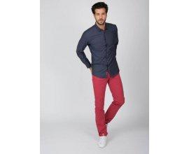 Father & Sons: Pantalon Slack homme rouge couleur bois de rose au prix de 27,45€ au lieu de 74,90