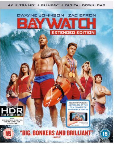 Code promo Zavvi : Baywatch : 4K Ultra HD Blu-ray, 2 pour 34€ au lieu de 23,19€ l'un