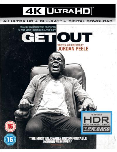 Code promo Zavvi : Get Out : 4K Uktra HD - BluRay , 2 pour 34€ au lieu de 23,19€ l'un