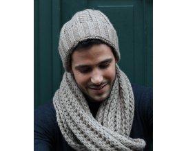 Father & Sons: Bonnet gris en laine tricotée à 9,95€ au lieu de 19,90€