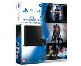 Micromania: MEGA Pack PS4 + Uncharted 4 + Bloodborne + Heavy Rain & Beyond + 2ème manette en BONUS, à 384,99€