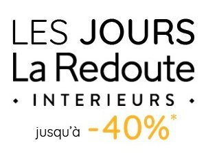 jusqu 39 40 tva offerte sur la literie la redoute code promo reve5. Black Bedroom Furniture Sets. Home Design Ideas