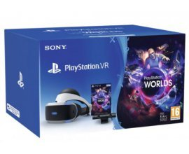 Micromania: PACK PS4 : Casque Playstation VR + Camera V2 + VR Worlds (Voucher), à 299,99€ au lieu de 399,99€