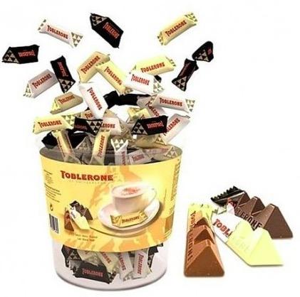 Code promo Groupon : 4 boîtes de mini Toblerone (440 pièces) à 66,99€