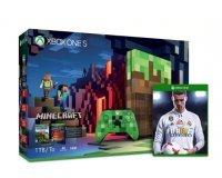 Microsoft: Pack Xbox One S Minecraft (1 To) + FIFA 18 inclus à 229€ au lieu de 299€