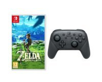 Cdiscount: The Legend of Zelda: Breath of the Wild + Manette Pro Switch à 109,12€ au lieu de 142,12€