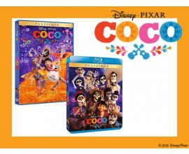 """Femme Actuelle: 40 Blu-ray et 10 DVD du dessin animé """"Coco"""" à gagner"""
