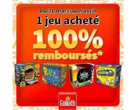 King Jouet: 1 jeu Goliath acheté 100% remboursé (4 références au choix)