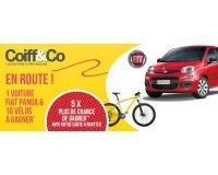 Coiff&Co: Une voiture Fiat Panda Pop 1.2 69 ch, 10 vélos sous forme de cartes cadeau à gagner