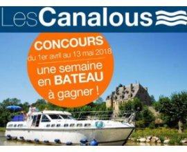 Familiscope: 1 semaine à bord d'un bateau sur le Canal du Midi : Bourgogne,Lot, Anjou ou Alsace