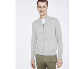Celio*: Cardigan uni homme 100% coton premium couleur Heather Grey au prix de 19,99€ au lieu de 39,99€
