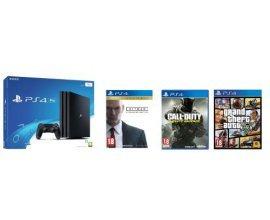 Fnac: Pack Sony PS4 Pro 1 To+ Code de téléchargement Qui es-tu? + 3 jeux à 454,99€ au lieu de 569,96€