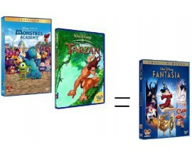 Cultura: DVD & BluRay - 2 Disney achetés = le 3e offert