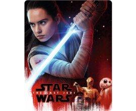 Zavvi: Steelbook 4K UHD Blu-Ray - Star Wars, Episode VIII : Les Derniers Jedi, à 36,99€ au lieu de 45,65€