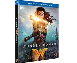 Cultura: Blu-Ray + Digital HD - Wonder Woman, 3 vidéos pour 49,98€ au lieu de 74,97€