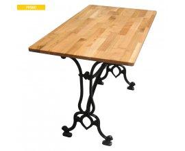 Camif: Table bistrot en merisier et fonte à 150,50€ au lieu de 215€
