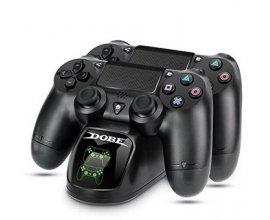 Amazon: PS4 Chargeur Manette, Station de Charge DualShock 4 à 13,99€ au lieu de 40,99€