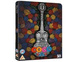 Zavvi: Blu-Ray - Coco 3D (+2D version) Steelbook Edition limitée, à 29,25€ au lieu de 33,95€ [Précommande]