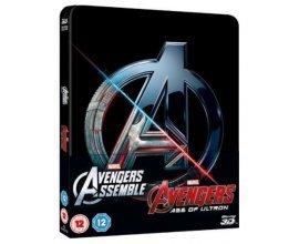 Zavvi: Blu-Ray - Coffret Avengers 3D (+2D) Steelbook Edition Limitée, à 40,95€ au lieu de 47,99€