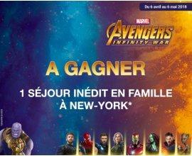 La Grande Récré: 1 séjour en famille à New York à gagner à l'occasion de la sortie d'Avengers : Infinity War