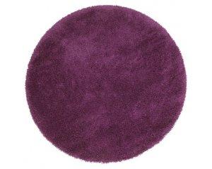 Alinéa: Tapis Shaggy rond D160cm violet à 53,94€ au lieu de 89,90€