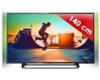 """Rue du Commerce: TV LED 4K UDH 55"""" (139cm) PHILIPS 6000 Series 55PUS6262 avec ambilight à 499€ au lieu de 799€"""