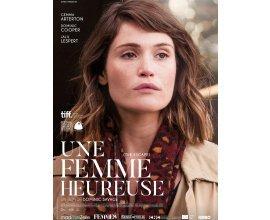 """Le Journal des Femmes: 20 lots de 2 places de cinéma pour le film """"Une femme heureuse"""" à gagner"""