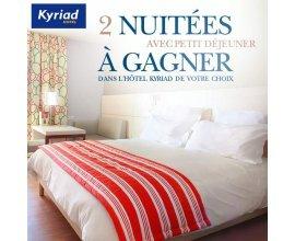 Kyriad: 2 nuitées avec petit déjeuner dans l'hôtel de votre choix.