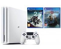 Fnac: PS4 Pro 1 To Blanche + God of War + Destiny 2 à 399,99€
