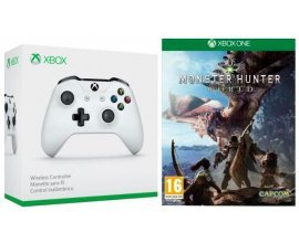 Cdiscount: Monster Hunter World sur Xbox One + 1 Manette Xbox One sans fil blanche à 69,99€