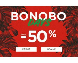 Bonobo Jeans: [Bonobo Days] Jusqu'à -50% sur une sélection d'articles