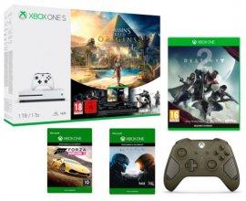 Micromania: 1 Xbox One S achetée = 1 manette, 3 jeux (Halo 5, FH 2 et Destiny 2) et 3 mois de Xbox Live offerts