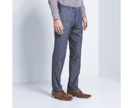 Devred 1902: Pantalon de costume bleu chambray à 41,99€ au lieu de 59,99€