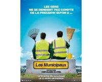 """Blog Baz'art: 5 lots de 2 places de cinéma pour le film """"Les municipaux"""" à gagner"""