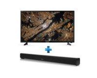 Rue du Commerce: TV Led Smart 40'' Full HD 1080p  SHARP+barre de son 2.0 bluetooth à 399,99€ au lieu de 498€