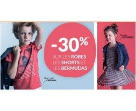 Kidiliz: -30% sur les robes, shorts et bermudas